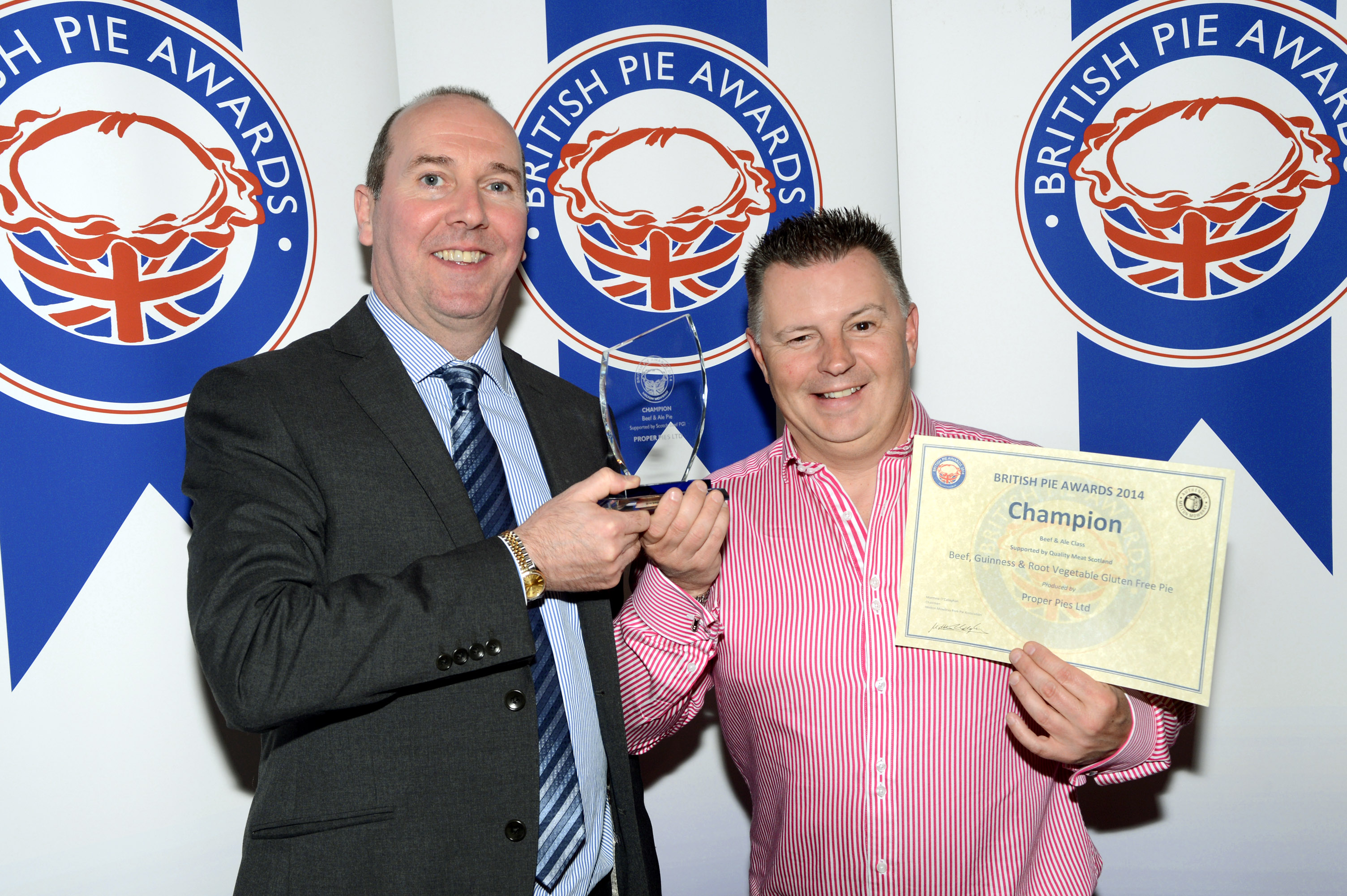 Britiths Pie Awards 2014