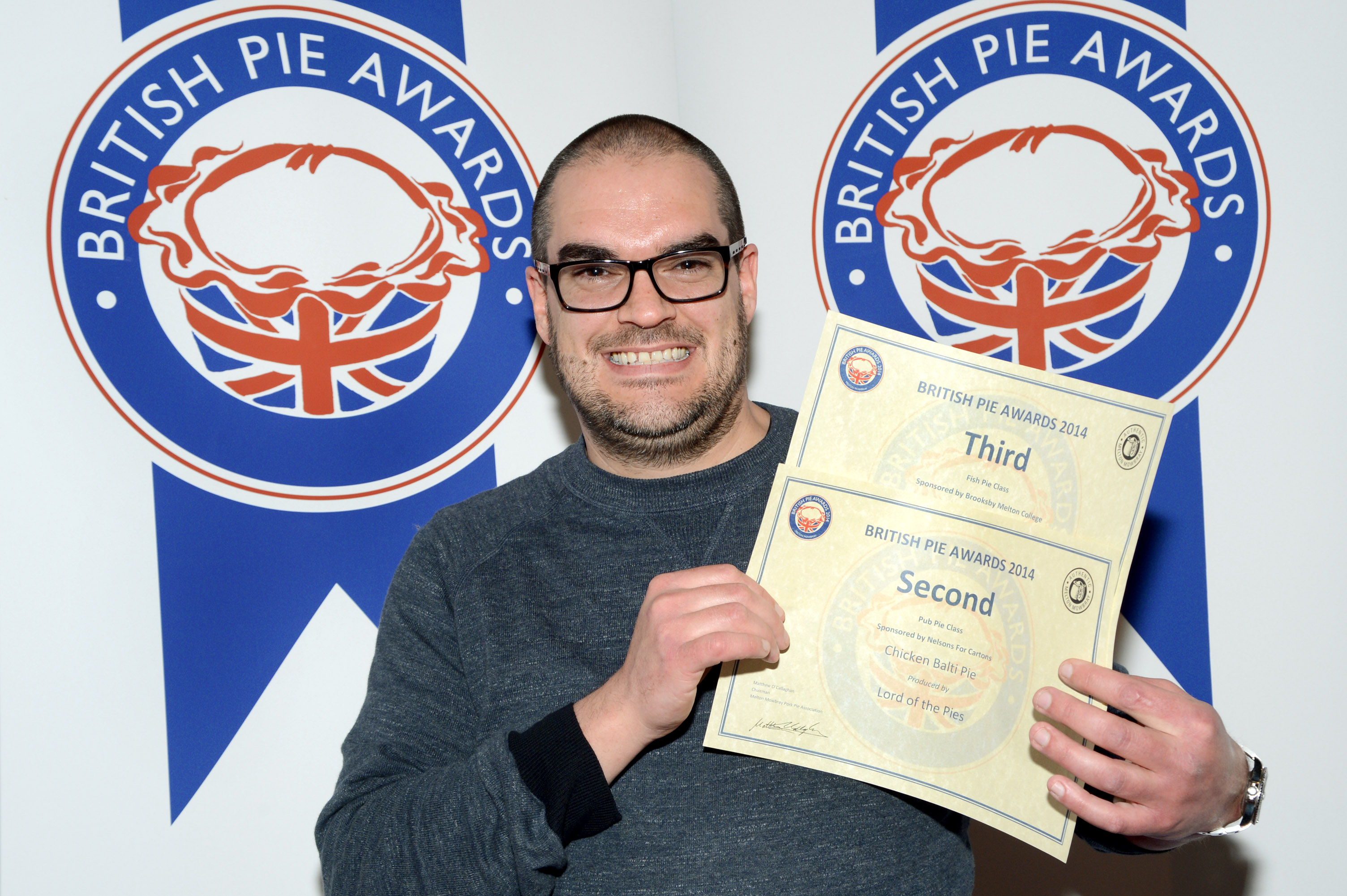 Brititsh Pie Awards 2014
